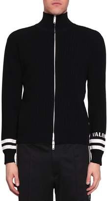 Valentino Cotton Zipped Cardigan