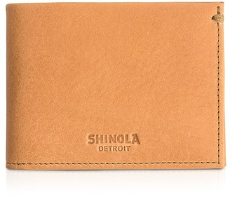 Shinola Slim Bifold Wallet $195 thestylecure.com