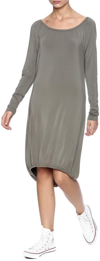 Hard Tail Back Wrap Dress