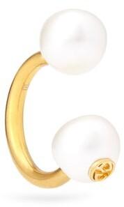 Gucci Pearl Effect Single Earring - Womens - White