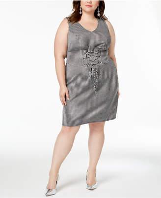 Love Squared Trendy Plus Size Corset Bodycon Dress