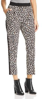 Marella Rosone Cropped Leopard Tuxedo Pants - 100% Exclusive