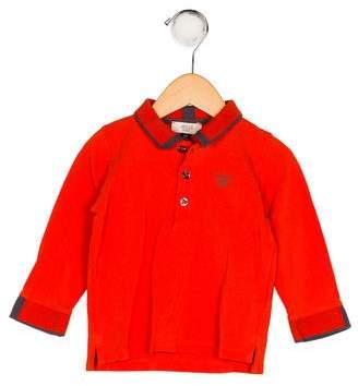 Giorgio Armani Baby Boys' Collar Long Sleeve Shirt