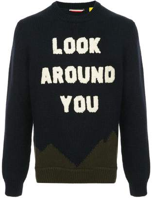 Moncler Look Around You sweater