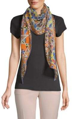 Emilio Pucci Abstract-Print Stole