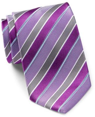 HUGO BOSS Diagonal Striped Silk Tie $115 thestylecure.com