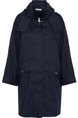 IRO Gerald Linen-Blend Twill Hooded Jacket