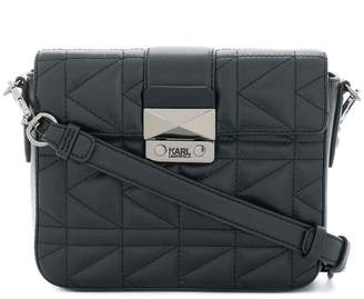 Karl Lagerfeld K/Kuilted cross body bag
