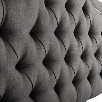 Co Darby Home Bret Tufted Queen Upholstered Panel Bed