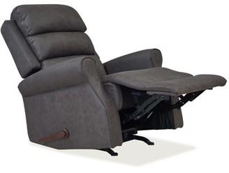Homesvale Linder Rocker Recliner Chair in Slate Nubuck