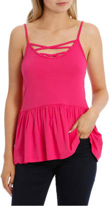 Only Pippi Detail Peplum Top