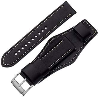 Fossil S221241 22mm Leather Calfskin Watch Strap