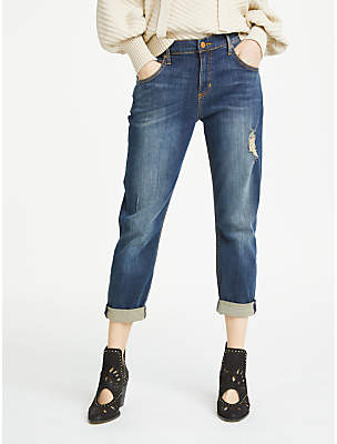 AND/OR Venice Beach Boyfriend Jeans, Dark Rock