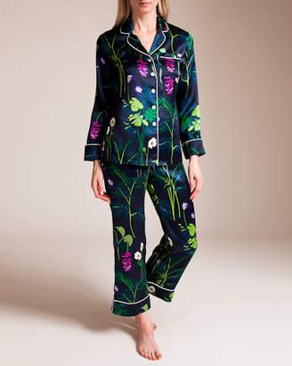 Bracli Olivia Von Halle Lila Gene Silk Pajama