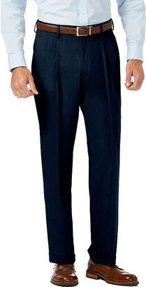 Haggar Jm Dress Pants Classic Fit Pleated Pants