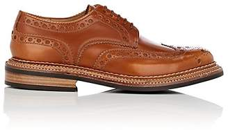 Grenson MEN'S ARCHIE LEATHER WINGTIP BLUCHERS
