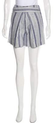 Jenni Kayne Linen High-Rise Shorts