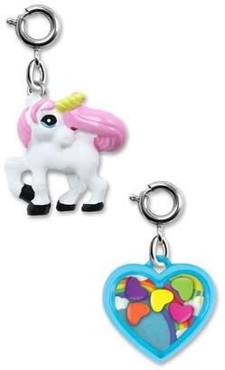 High Intencity CHARM IT!(R) 2-Pack Unicorn & Heart Shaker Charms