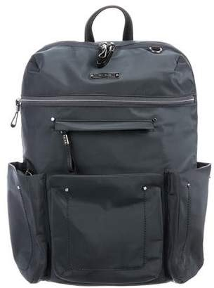 Tumi Leather-Accented Nylon Backpack