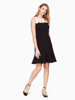 Kate Spade Scallop sleeveless dress