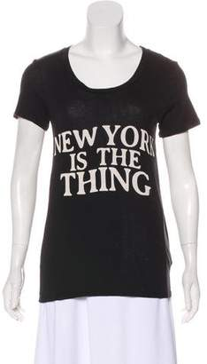 Rebecca Minkoff short Sleeve Graphic T-Shirt