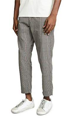 Obey Men's Straggler Plaid Carpenter Pant