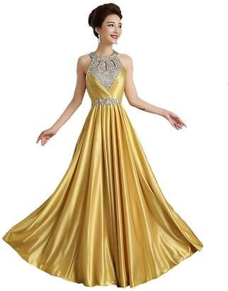 Clover Womens Long Prom Gowns Sexy Long Evening Dress