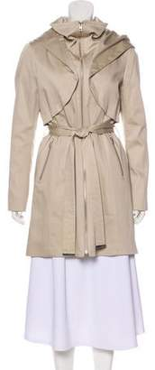 Soia & Kyo Hooded Knee-Length Coat w/ Tags