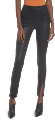 Blank NYC BLANKNYC Black Magic Faux Leather Leggings