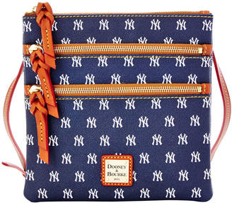 Dooney & Bourke MLB Yankees Triple Zip Crossbody