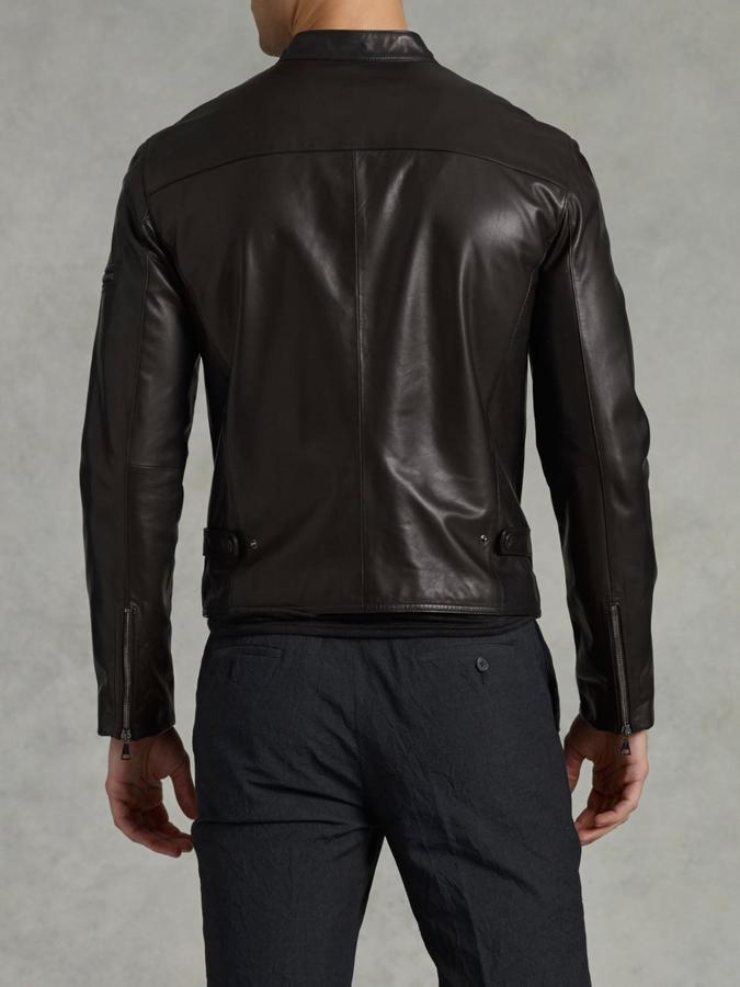 Lambskin Leather Jacket 4
