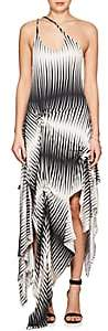 J.W.Anderson WOMEN'S STRIPED JERSEY ASYMMETRIC DRESS