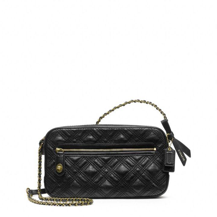 Coach Poppy Flight Bag In Leather