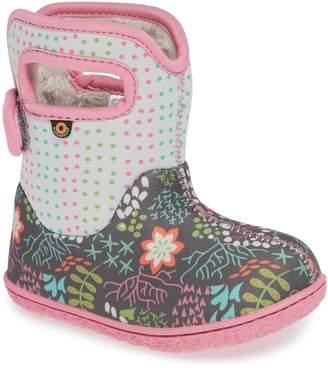 Bogs Baby New Flower Dot Waterproof Boot