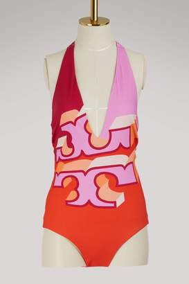 Tory Burch Reversible logo swimsuit