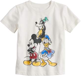 Disneyjumping Beans Disney's Mickey Mouse Baby Boy Goofy, Donald Duck & Mickey Mouse Softest Graphic Tee by Jumping Beans