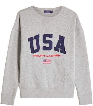 ... Polo Ralph Lauren Sweatshirt with Cotton dacf52ac148