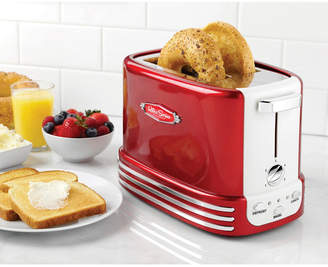 Nostalgia Electrics Nostalgia Rtos200 Retro 2-Slice Bagel Toaster