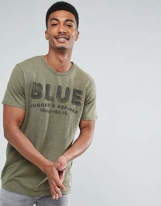 Jack and Jones Vintage Slim Fit T-Shirt With Vintage Graphic