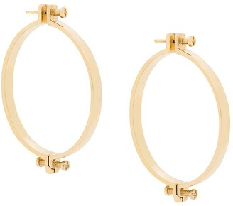 Annelise Michelson medium Alpha earrings