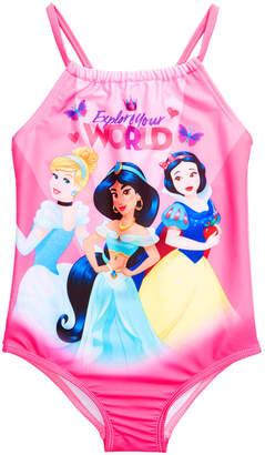 Dreamwave Toddler Girls 1-Pc. Disney Princesses Graphic Swimsuit