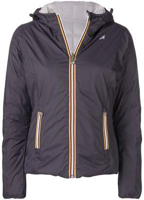 K-Way zipped padded jacket