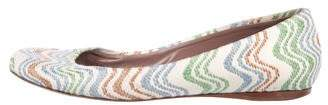 Missoni Embroidered Ballet Flats
