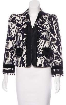 Marc Jacobs Embellished Patterned Blazer