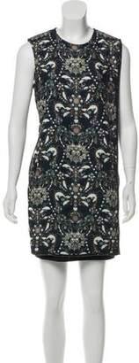 Ted Baker Printed Embellished Dress