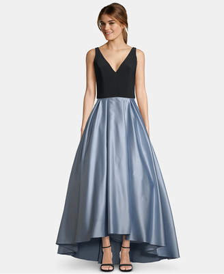 Betsy & Adam Petite High-Low Gown