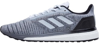 Mens Solar Glide Neutral Running Shoes Footwear White/Footwear White/Core Black