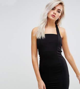 Asos Mini Square Neck Halter Bodycon Dress