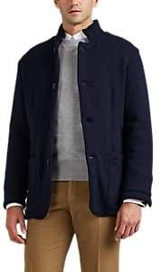 Fioroni Men's Wool-Cashmere Jacket - Navy