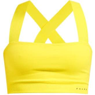 Falke Le Bandeau Performance Bra - Womens - Yellow
